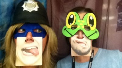 Check out our Christmas photo booth snaps