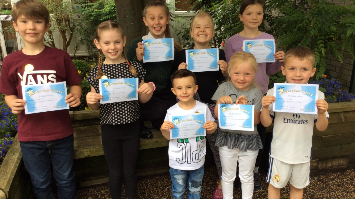 Head Teacher award Winners – 30-06-17