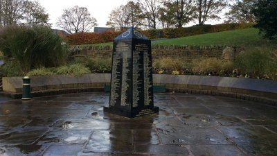 Visit to Royton war memorial