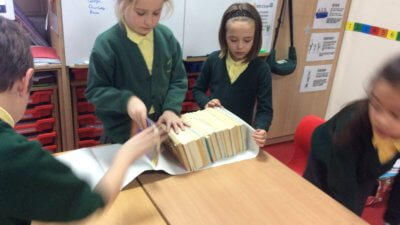 In RE we have been learning that the Old Testament is made up of 39 books