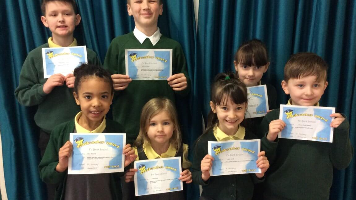Head Teacher Award Winners – 23/03/2018