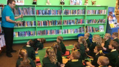 We enjoyed our visit to Royton Library.