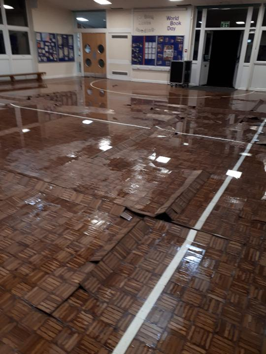 Please see our reason for school closure (flood damage)