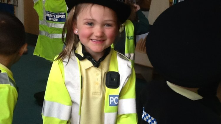 Green Class had a special visit from the Police.