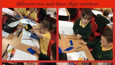Place Value using concrete objects in Maths