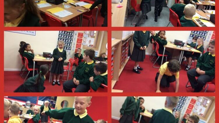 Learning and internalizing story structure through drama