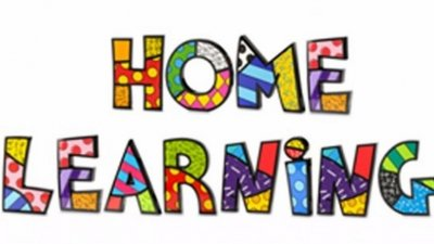 Home Learning week 1